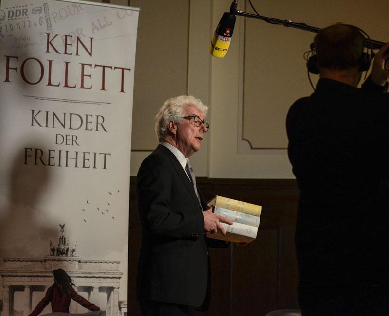 Ken Follett im Meistersaal