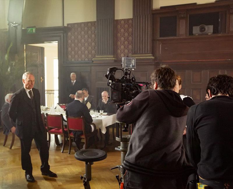 Filmdreh im Meistersaal